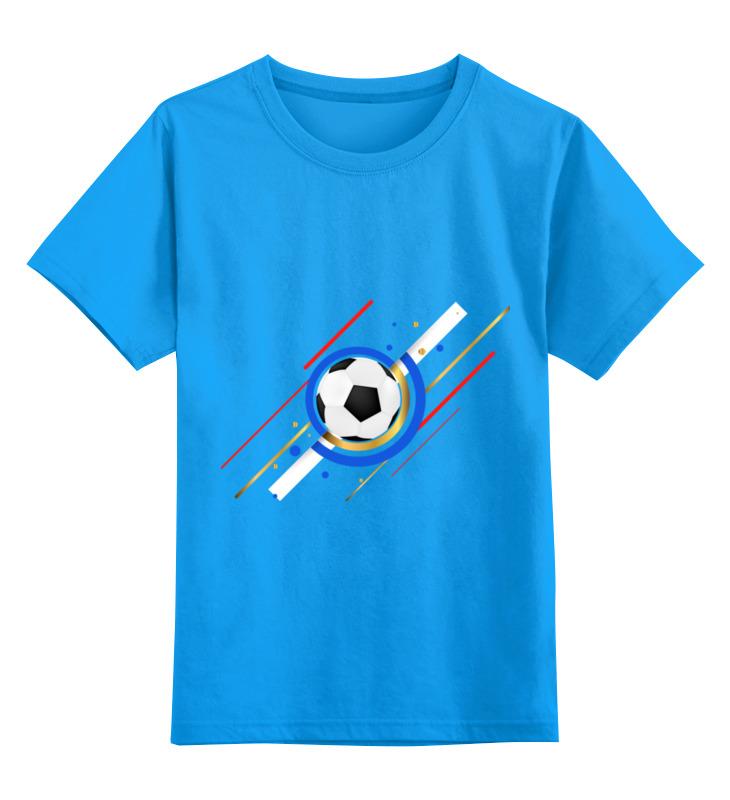 Детская футболка классическая унисекс Printio Футбол футболка унисекс