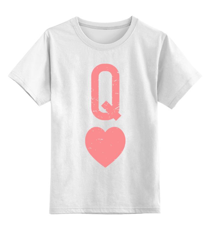 Printio Королева сердец футболка классическая printio королева сердец