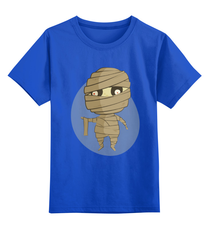 Детская футболка классическая унисекс Printio Мумия клод изнер мумия из бютт о кай