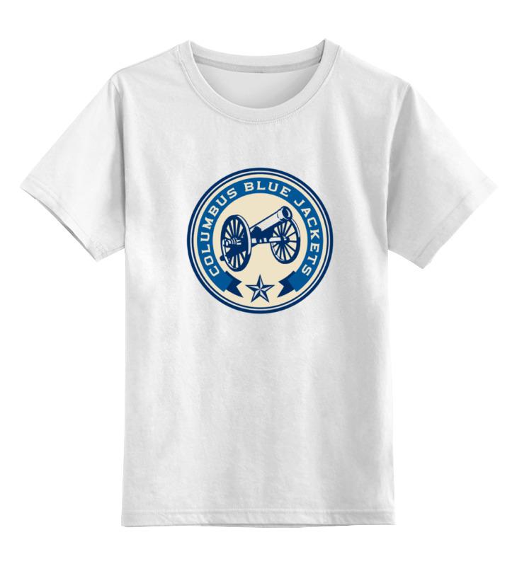 Детская футболка классическая унисекс Printio Columbus blue jackets / nhl usa детская футболка классическая унисекс printio los angeles kings nhl usa