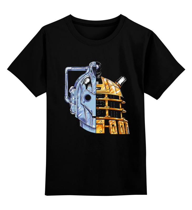 Детская футболка классическая унисекс Printio Daleks x cybermen (daft punk) детская футболка классическая унисекс printio punk girl