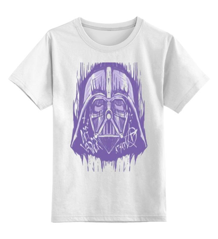 Детская футболка классическая унисекс Printio Anakin skywalker лонгслив printio anakin skywalker
