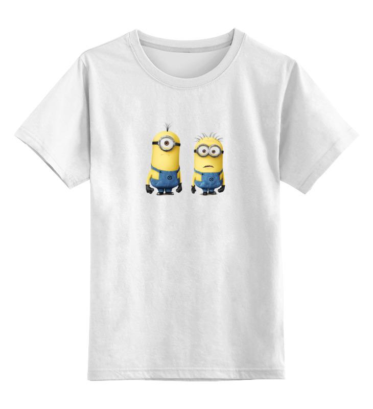 Детская футболка классическая унисекс Printio Гадкий я - 2. лонгслив printio гадкий я 2