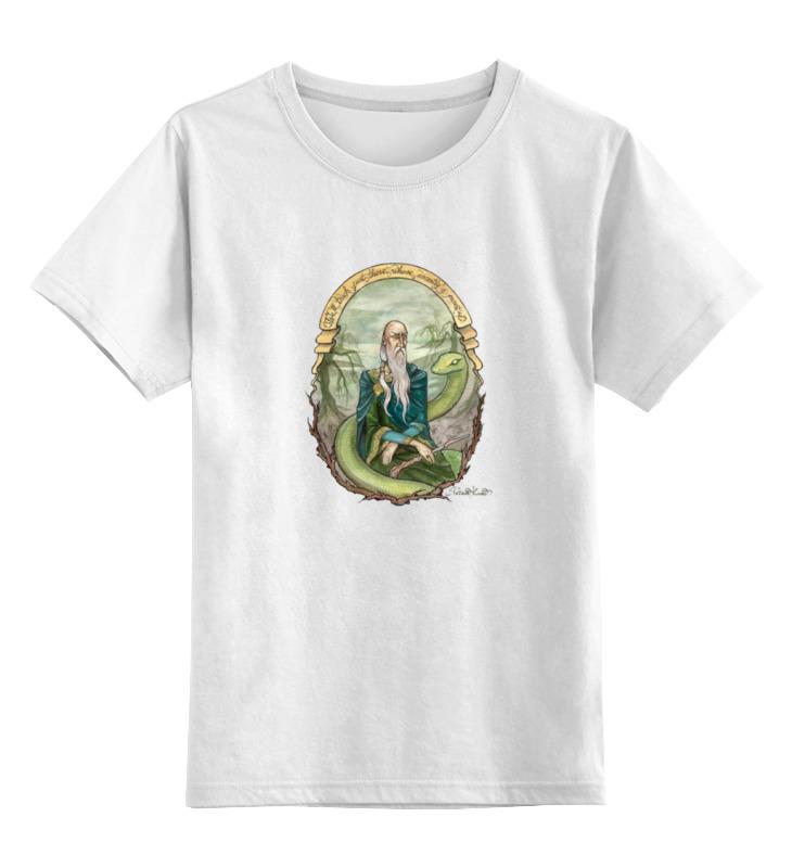 Детская футболка классическая унисекс Printio Слизерин