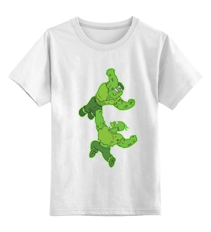 где купить Детская футболка классическая унисекс Printio Гомер vs питер по лучшей цене