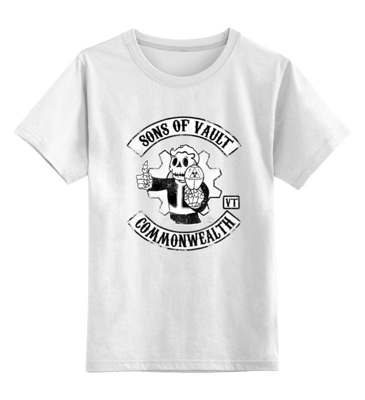 Детская футболка классическая унисекс Printio Vault boy толстовка классическая детская dc cappell boy vintage green