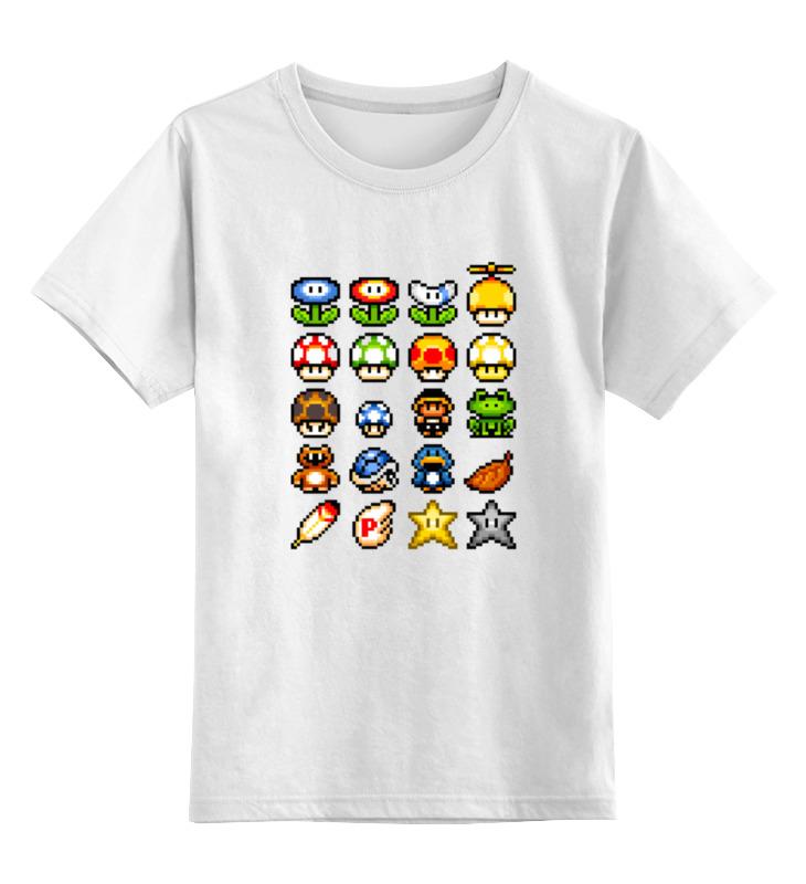 Детская футболка классическая унисекс Printio Герои марио детская футболка классическая унисекс printio кинг бу марио