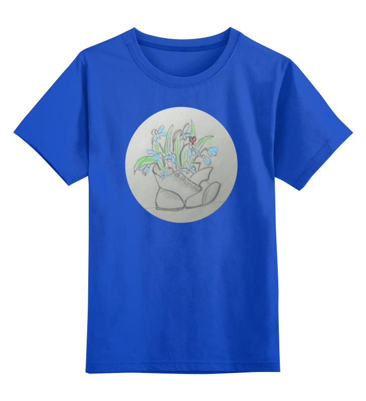 Детская футболка классическая унисекс Printio Подснежники футболка классическая printio подснежники