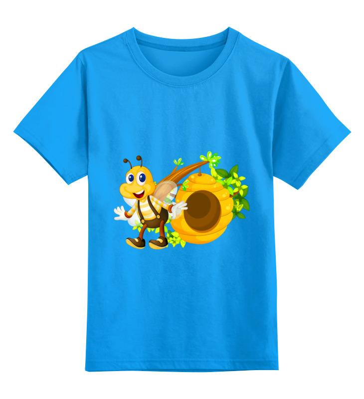 Фото - Детская футболка классическая унисекс Printio Пчелка детская футболка классическая унисекс printio дюжина
