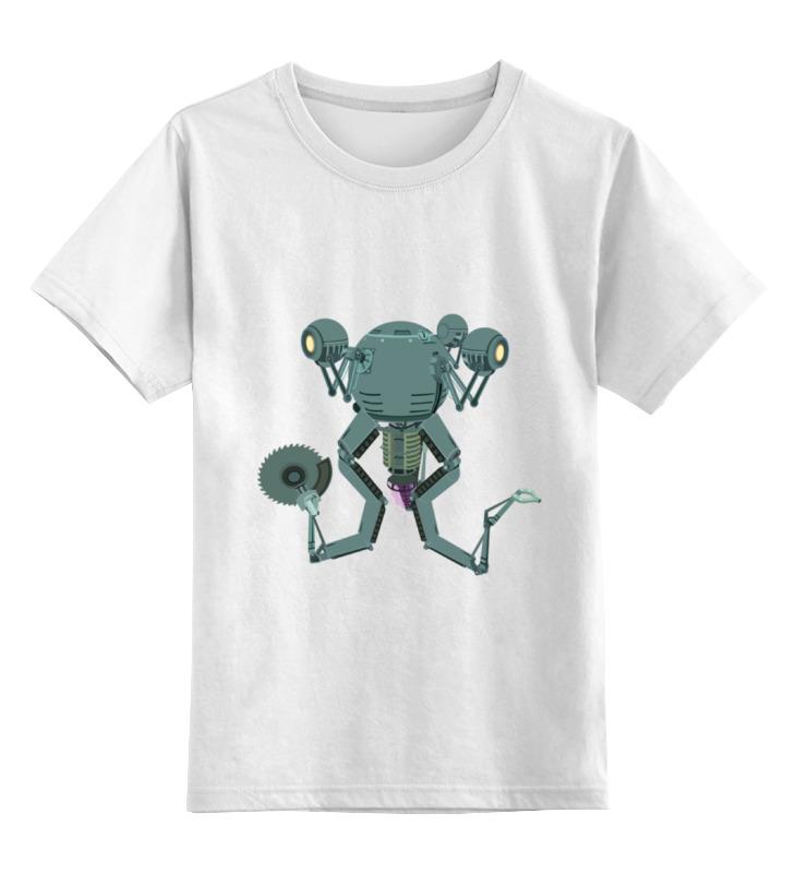 Детская футболка классическая унисекс Printio Mr. handy fallout футболка классическая printio fallout фэллаут