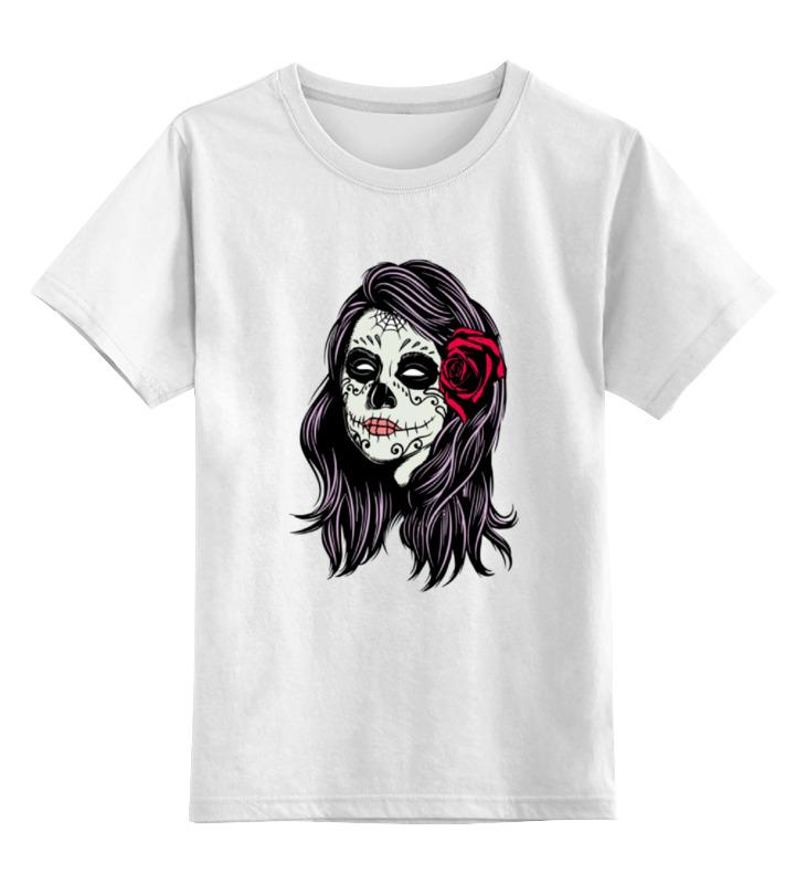 Детская футболка классическая унисекс Printio Skull girls детская футболка классическая унисекс printio skull trooper
