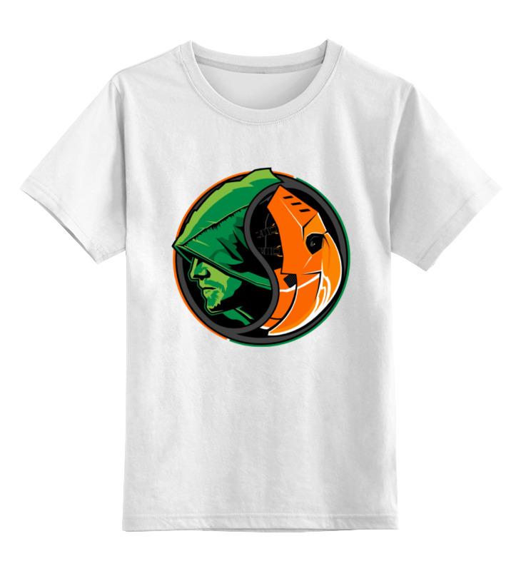Детская футболка классическая унисекс Printio Дефстроук (зеленая стрела) футболка зеленая