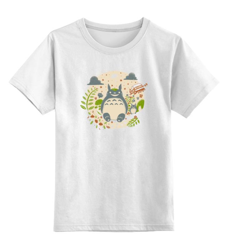 Детская футболка классическая унисекс Printio Мой сосед тоторо толстовка wearcraft premium унисекс printio мой сосед тоторо my neighbor totoro
