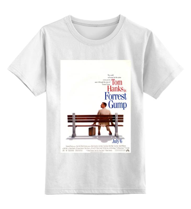 Детская футболка классическая унисекс Printio Форрест гамп / forrest gump футболка рингер printio форрест гамп forrest gump