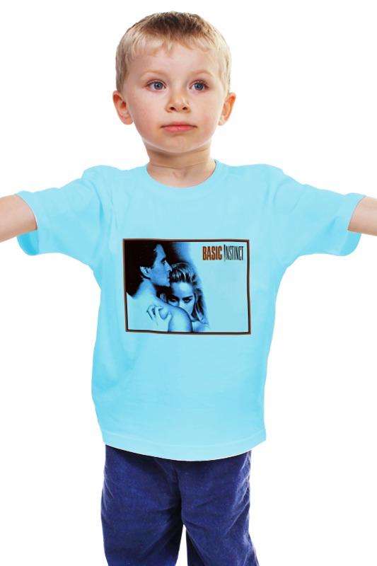Детская футболка классическая унисекс Printio Основной инстинкт шэрон стоун