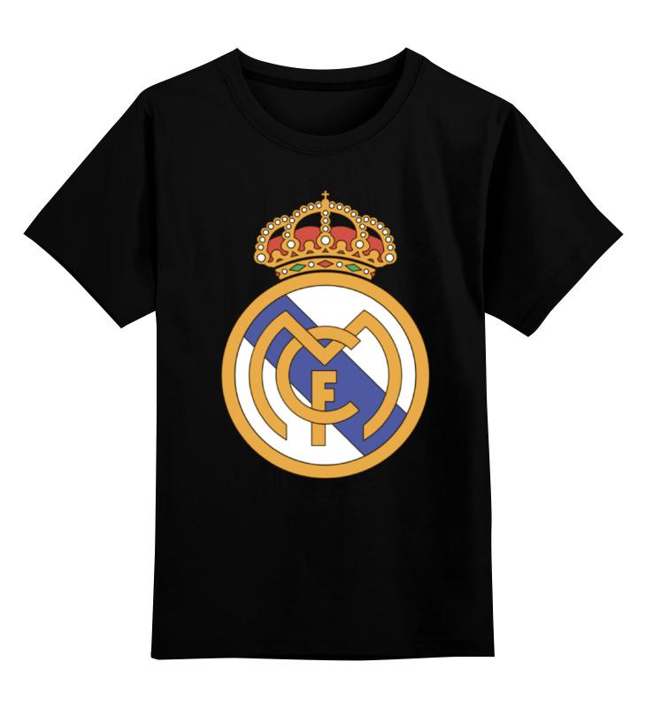 Детская футболка классическая унисекс Printio Реал мадрид детская футболка классическая унисекс printio реал мадрид