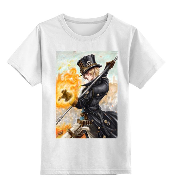 Детская футболка классическая унисекс Printio Сабо - one piece 2 piece 2015