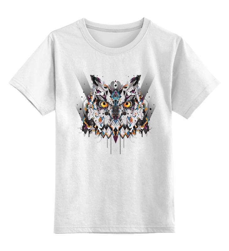Printio Сова (owl) детская футболка классическая унисекс printio зимняя сова