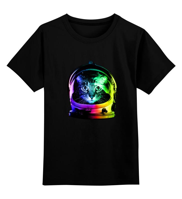 Детская футболка классическая унисекс Printio Astronaut cat