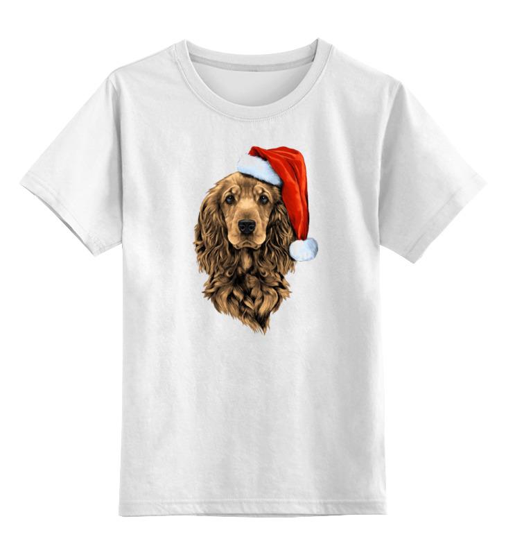 Детская футболка классическая унисекс Printio Кокер-спаниель английский кокер спаниель