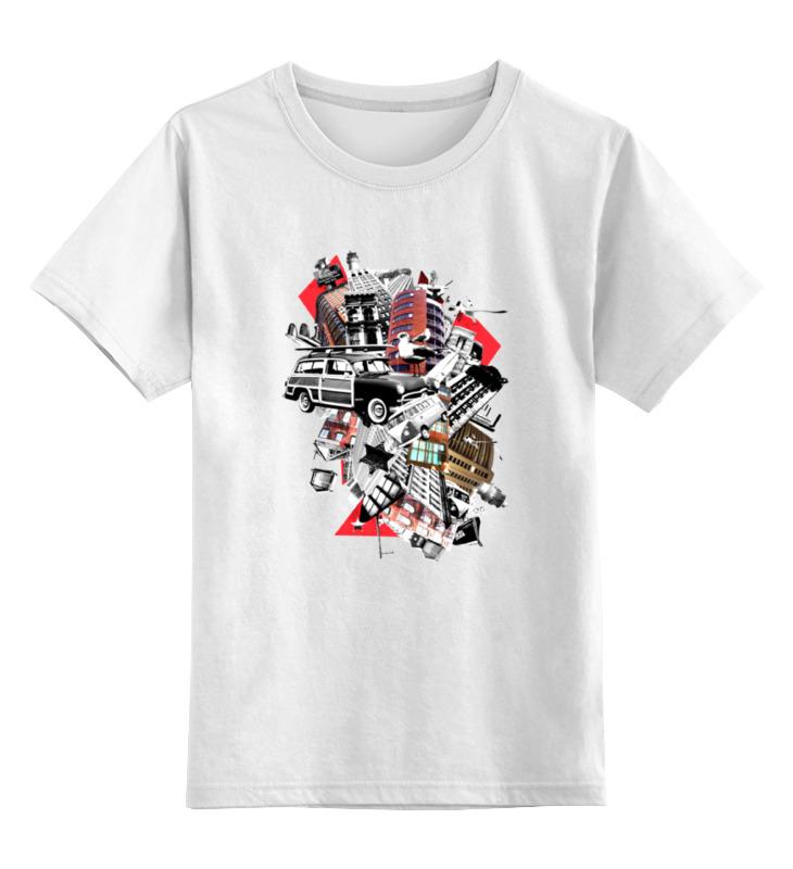 Детская футболка классическая унисекс Printio Мусорный ветер