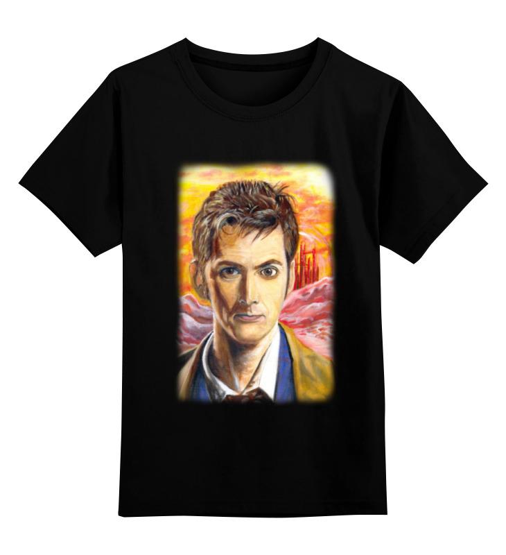 Детская футболка классическая унисекс Printio Десятый доктор (tenth 10th doctor) футболка wearcraft premium printio десятый доктор tenth 10th doctor