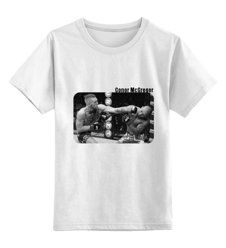 Детская футболка классическая унисекс Printio Conor mcgregor (конор) футболка юфс