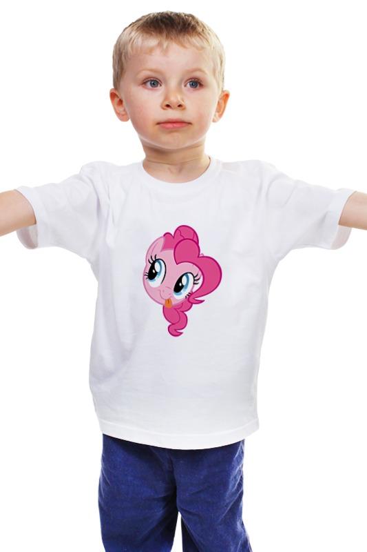 Детская футболка классическая унисекс Printio My little pony - пинки пай (pinkie pie) мульти пульти пони пинки пай со светом и звуком my little pony мульти пульти