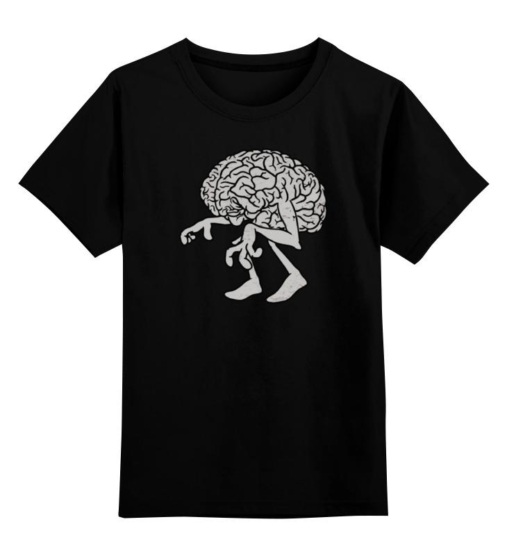 Детская футболка классическая унисекс Printio Brain / мозг цена и фото