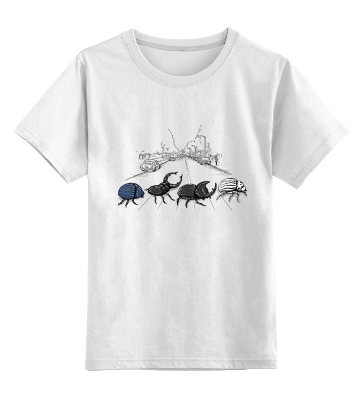 Детская футболка классическая унисекс Printio Насекомые цена