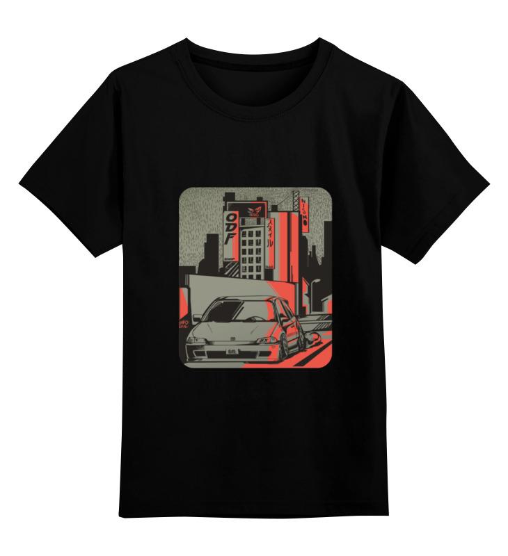 Детская футболка классическая унисекс Printio Низкое авто детская футболка классическая унисекс printio авто уаз