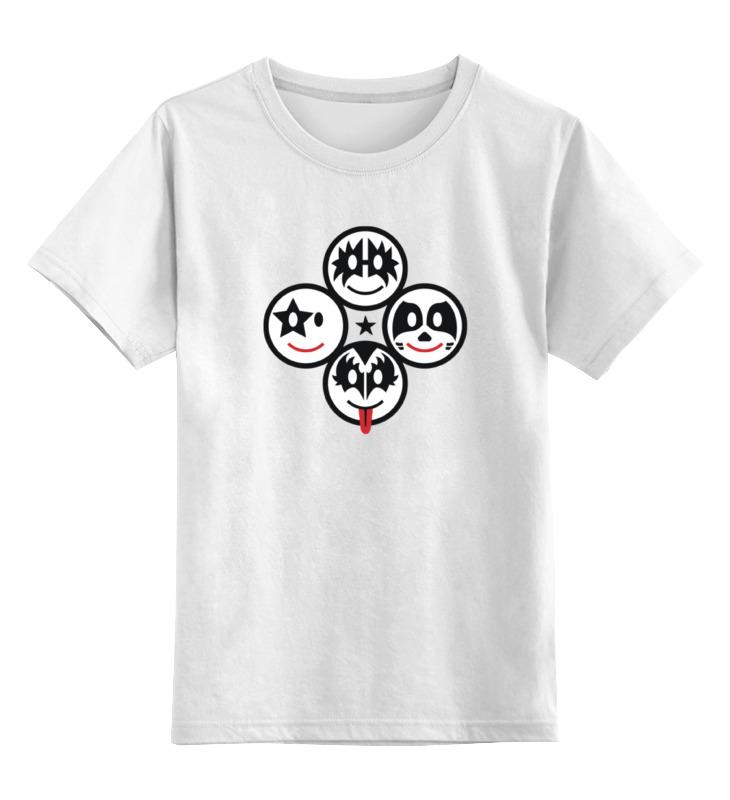 Детская футболка классическая унисекс Printio Кисс (kiss) детская футболка классическая унисекс printio кисс язык