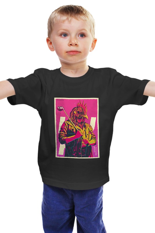 Детская футболка классическая унисекс Printio Hotline miami