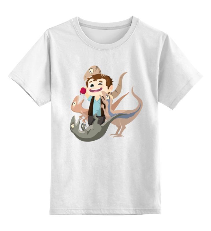 Детская футболка классическая унисекс Printio Мир юрского периода игра для ps3 lego мир юрского периода
