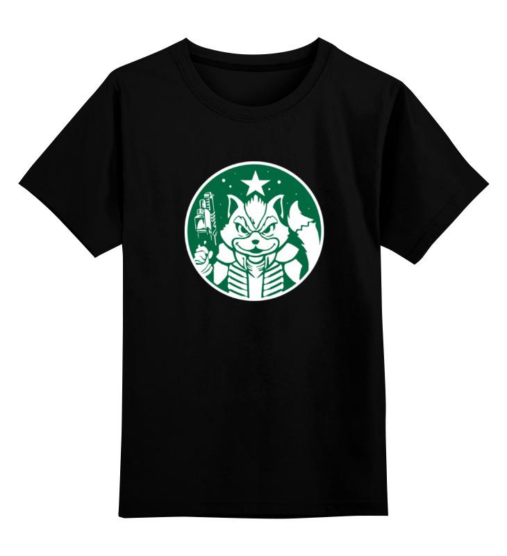 Детская футболка классическая унисекс Printio Енот ракета детская футболка классическая унисекс printio енот