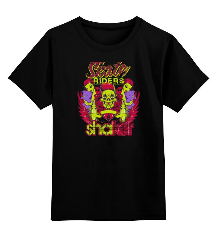 Детская футболка классическая унисекс Printio Skate riders