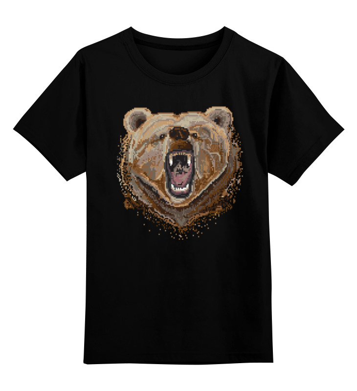 Printio Пиксельный медведь детская футболка классическая унисекс printio пиксельный узор