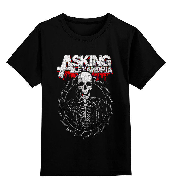 Детская футболка классическая унисекс Printio Asking alexandria детская футболка классическая унисекс printio мачете