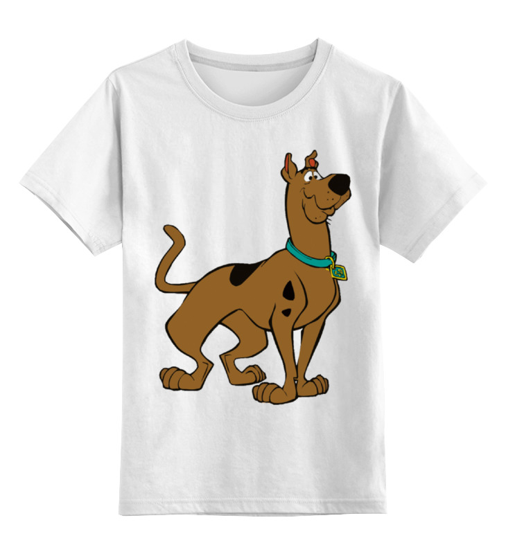 Детская футболка классическая унисекс Printio Скуби-ду детский свитшот унисекс printio скуби ду