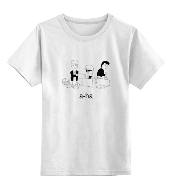 Детская футболка классическая унисекс Printio Группа a-ha a ha