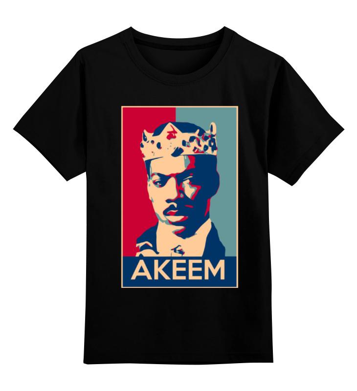 Детская футболка классическая унисекс Printio Принц аким (поездка в америку) цена