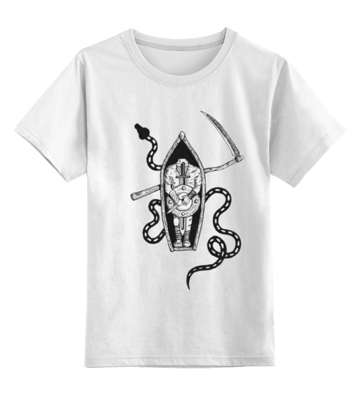 Детская футболка классическая унисекс Printio Лодка платье без рукавов printio семейная лодка