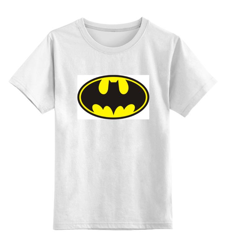 Детская футболка классическая унисекс Printio Бэтман цена и фото