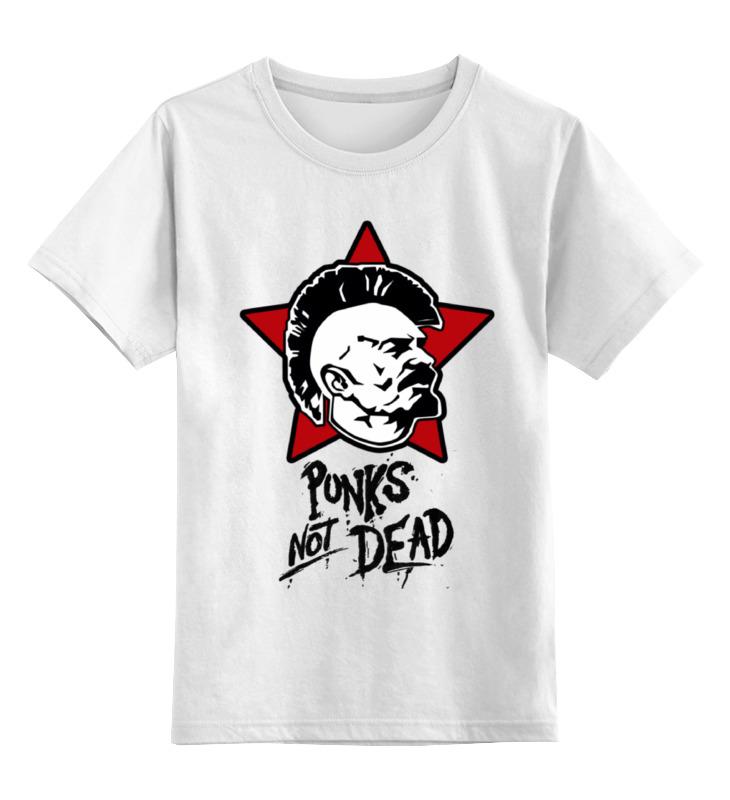 Детская футболка классическая унисекс Printio Ленин панк