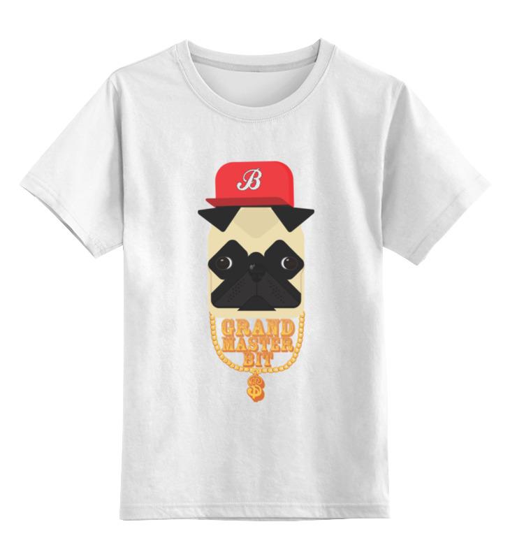 Детская футболка классическая унисекс Printio Grand master bit