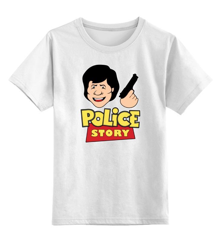 Детская футболка классическая унисекс Printio Джеки чан (полицейская история) детская футболка классическая унисекс printio джеки браун jackie brown