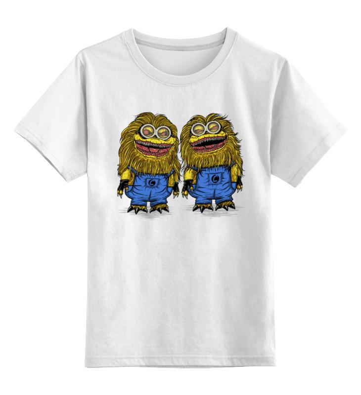 Детская футболка классическая унисекс Printio Миньоны зубастики детская футболка классическая унисекс printio миньоны