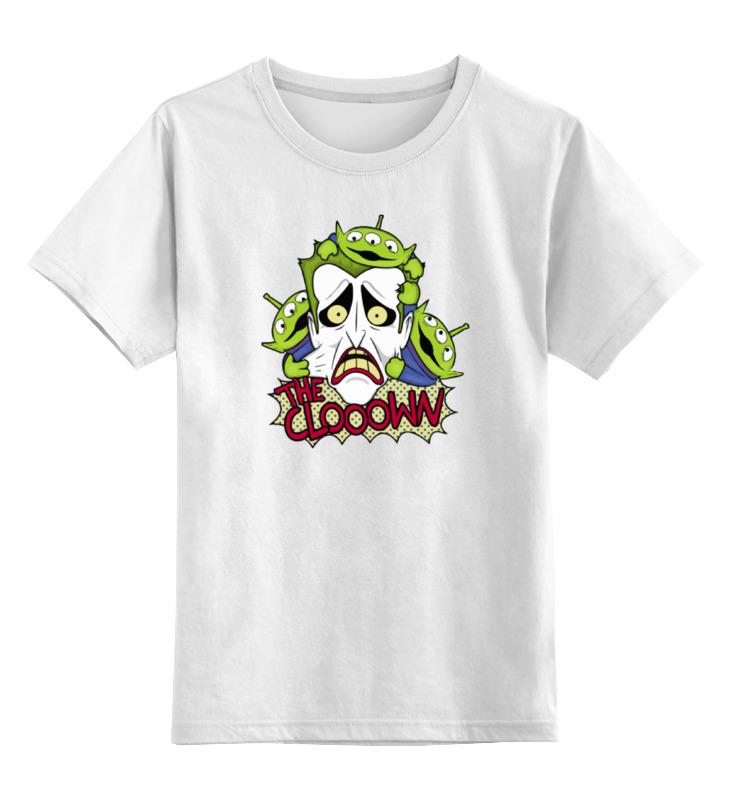 Детская футболка классическая унисекс Printio Джокер шлепанцы reserved
