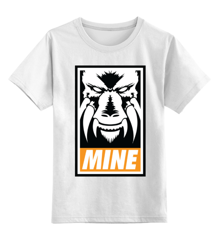 цена на Детская футболка классическая унисекс Printio Ларфлиз (оранжевый фонарь)