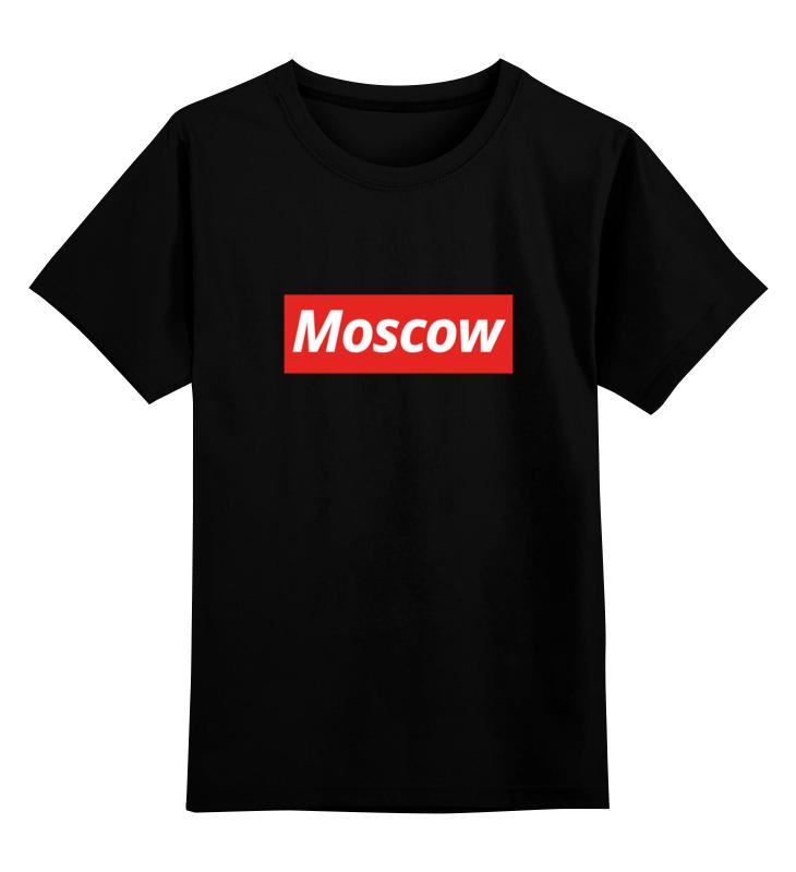 Детская футболка классическая унисекс Printio Moscow детская футболка классическая унисекс printio nobel prize